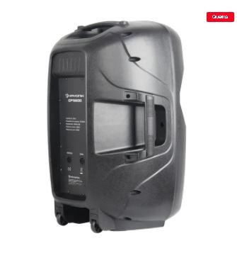 Caixa Acústica Passiva Preta 600W CP 15600 HAYONIK
