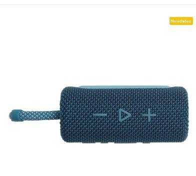 Caixa de Som Bluetooth 4W GO 3 Azul  JBL - Original