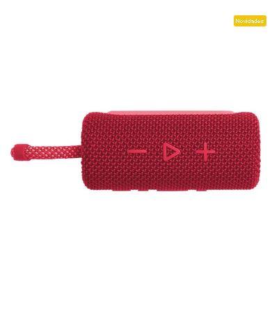 Caixa de Som Bluetooth 4W GO 3 Vermelho JBL - Original
