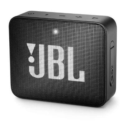 Caixa Multimídia Portátil Bluetooth GO 2 Preta JBL - Original
