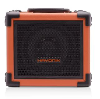 Caixa Multiuso 20W Bluetooth/USB/SD/FM IRON 80 Laranja - HAYONIK