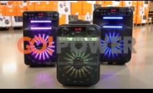 Caixa Multiuso Portátil Bluetooth/MicroSD/USB/FM 80W GO!POWER 100