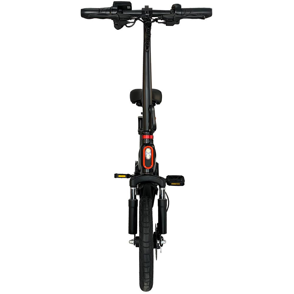 E-Bike Myway 3.0 Aro 14 Com Pedal Autonomia Até 50km  Preto