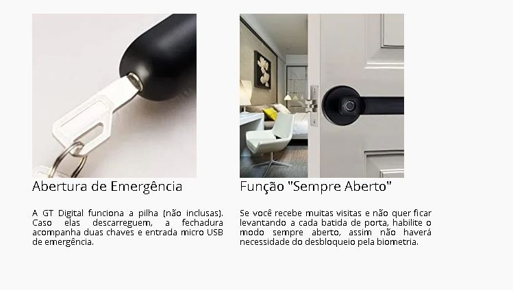 Fechadura Eletrônica Projetor Brasil Digital