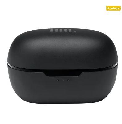 Fone Ouvido Bluetooth Tune 115TWS Preto JBL - Original