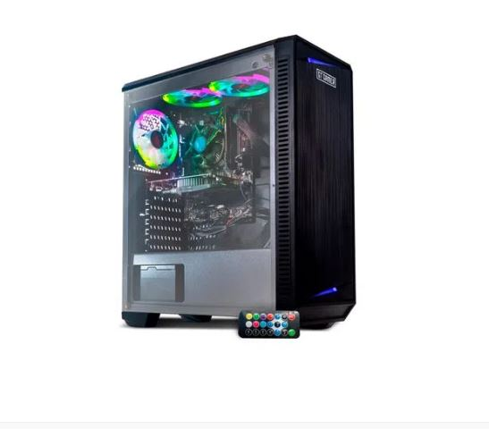 Gamer Prime I72 com Intel® Core i5-10400F 2.9GHz 8GB SSD 240GB GTX1650 4GB Win 10