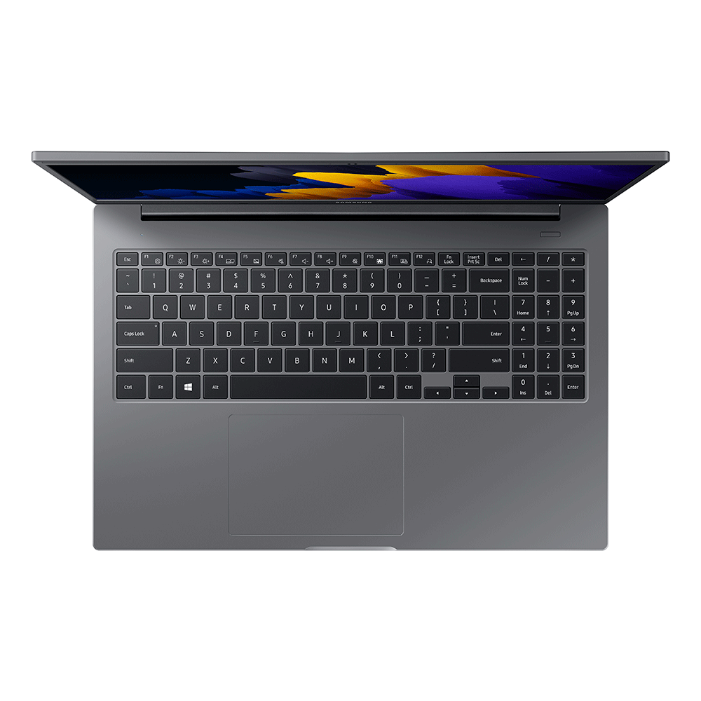 Notebook Samsung Book Intel® Dual-Core, Linux, 4GB, 500GB, 15.6'' Full HD LED, NP550XDZ-KO4BR, Bivolt Cinza Chumbo