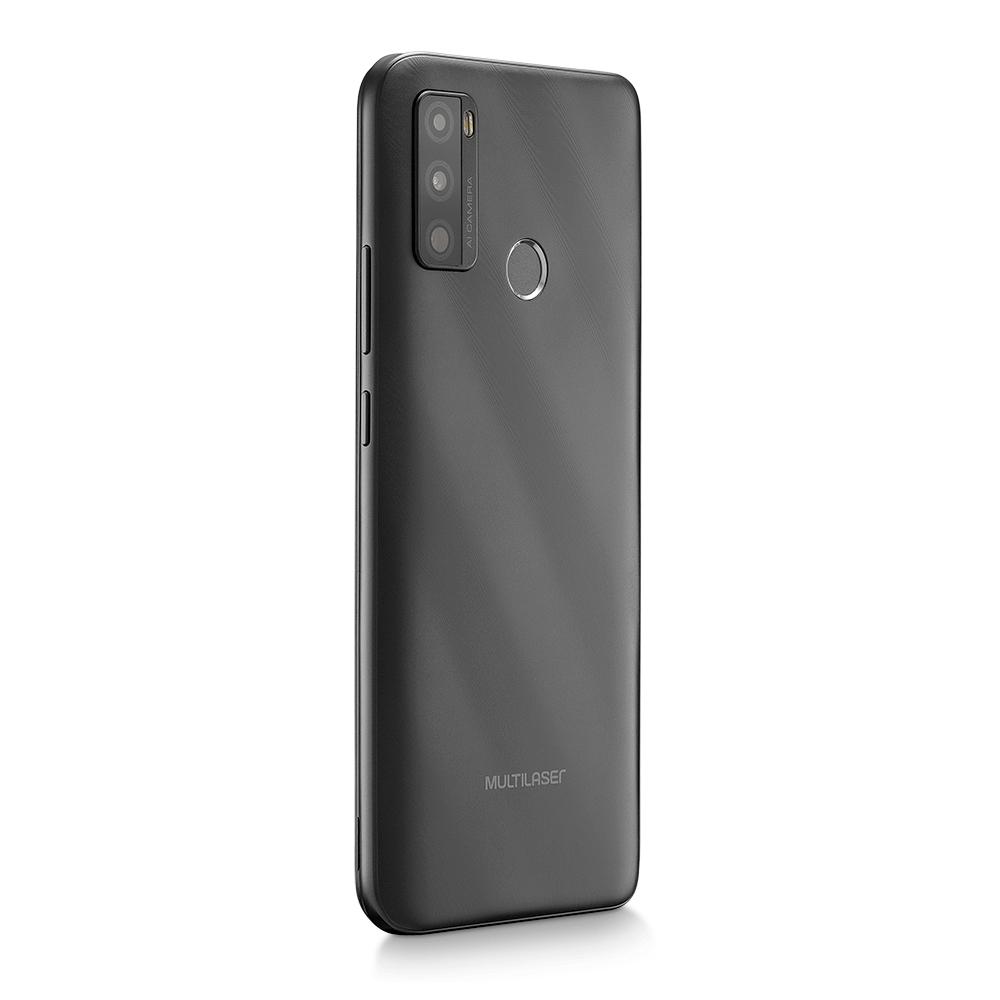 Smartphone Multilaser G Max 2 64GB, 2 GB RAM, 4G, Tela 6,5, Câmera Tripla, 5 MP, Processador Octa core Dourado