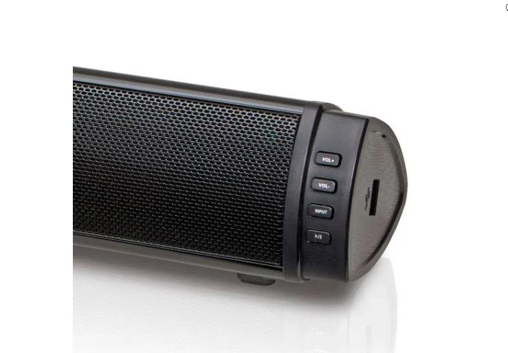 Soundbar 180W RMS 2.1 Canais com Subwoofer, Bluetooth e USB