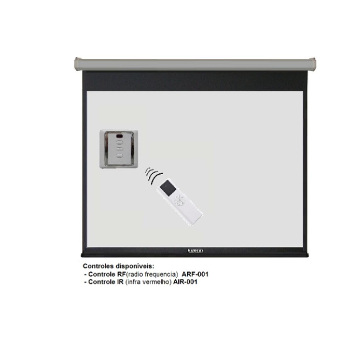 Tela Elétrica Standard PB 4/3 (304x228) - 127V - 150 Polegadas