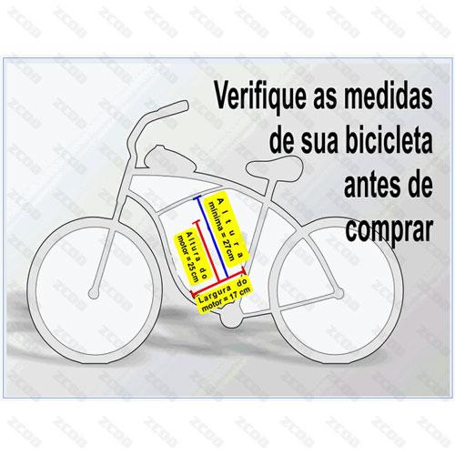 Kit Motor Para Bike Bicicleta à Gasolina 80cc 2T