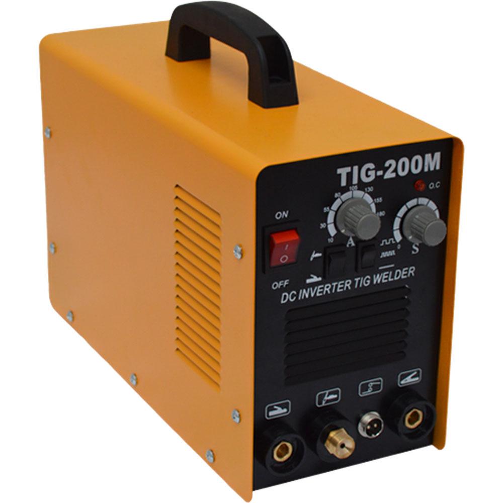 Máquina De Solda Do Tipo Tig e Eletrodo TIG-200 220v