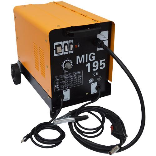 Máquina De Solda Do Tipo Mig 195 Flex (com ou sem gás) 220v