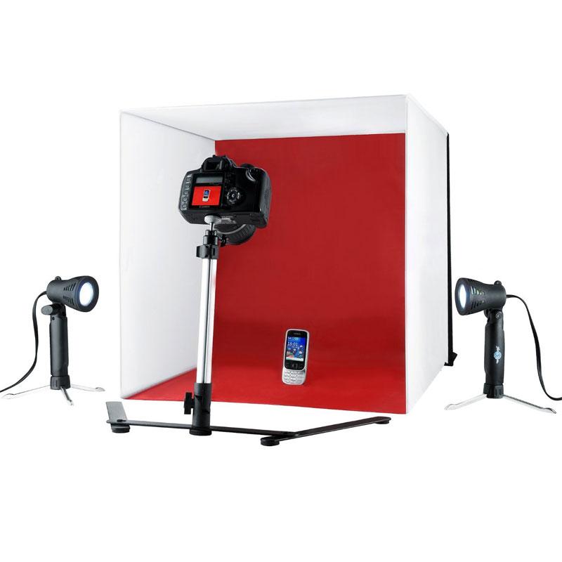 Mini Estúdio Tenda Fotográfica Portátil Completa
