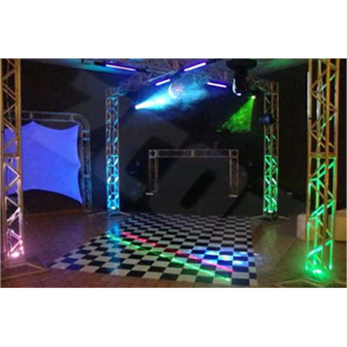 Tapete Piso Xadrez Para Pista De Dança 4X2M (8M²)