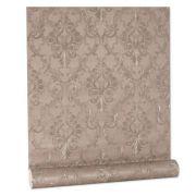 Papel De parede vinílico texturizado arabesco sala 7926