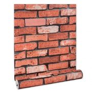 Papel De parede vinílico texturizado tijolo 22123