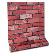 Papel De parede vinílico texturizado tijolo 22124