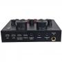 Mesa de Som V8 USB Interface Externa Zcod BV78