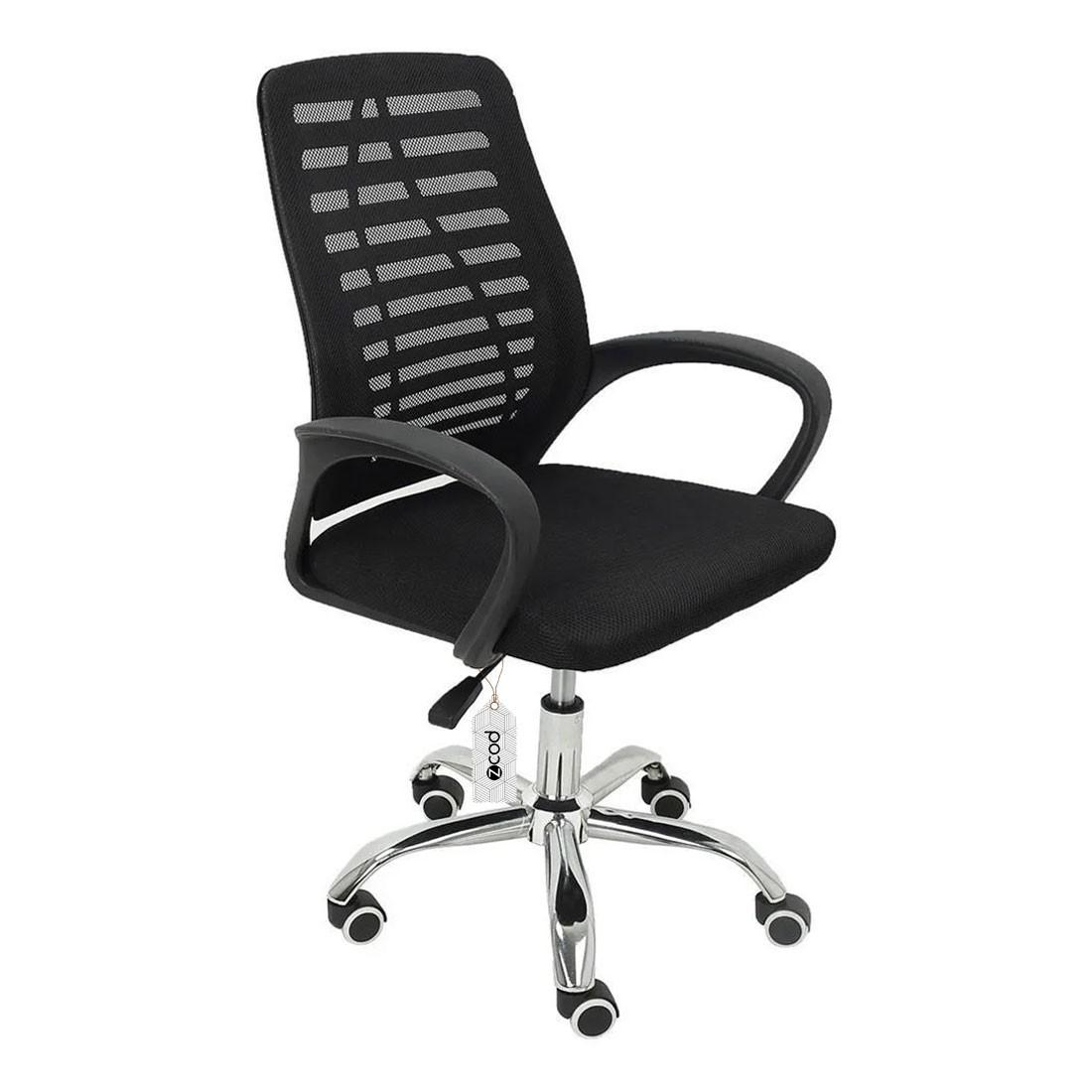 Cadeira de escritório em tela mesh giratória V102