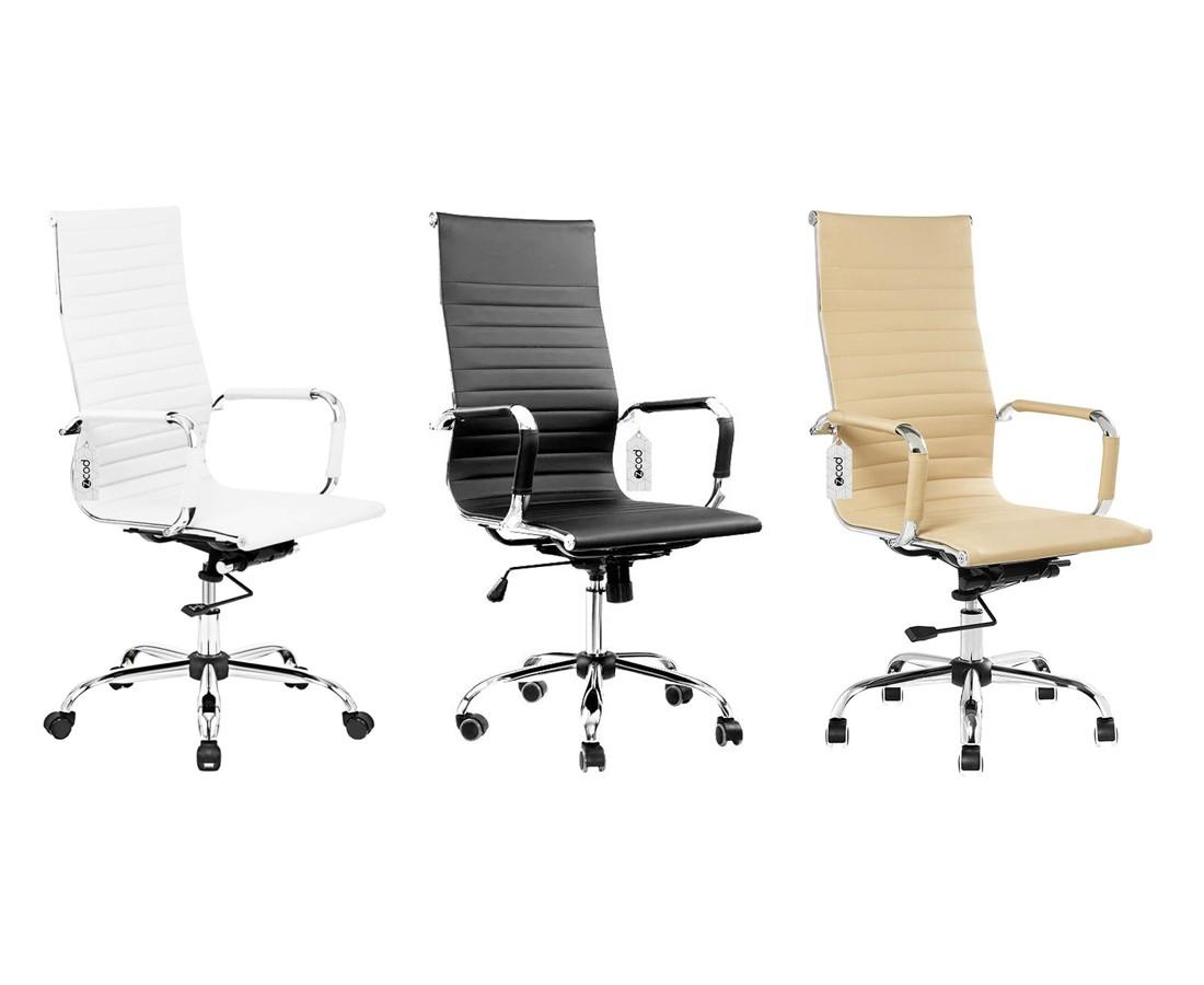 Cadeira de escritório presidente executiva eames