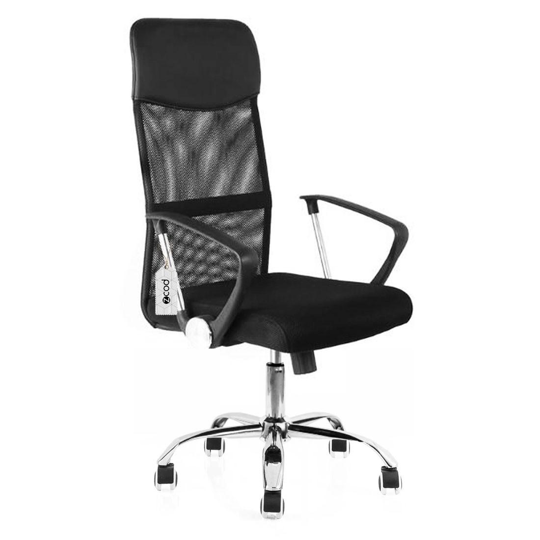 Cadeira de escritório presidente em tela mesh V103