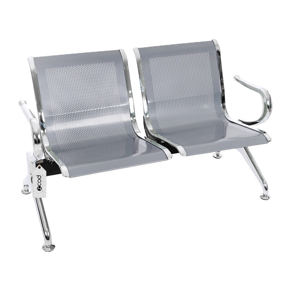 Cadeira Longarina Assentos Espera Aeroporto 2 Lugares V901