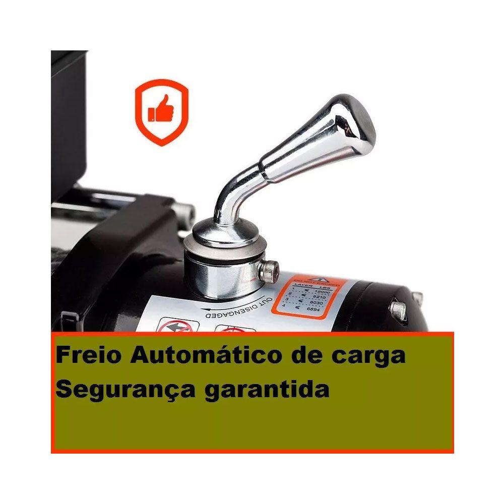 Guincho Elétrico 12v 13000Lbs (5900kg) - Veícular Automotivo Carro Jipe Troller *
