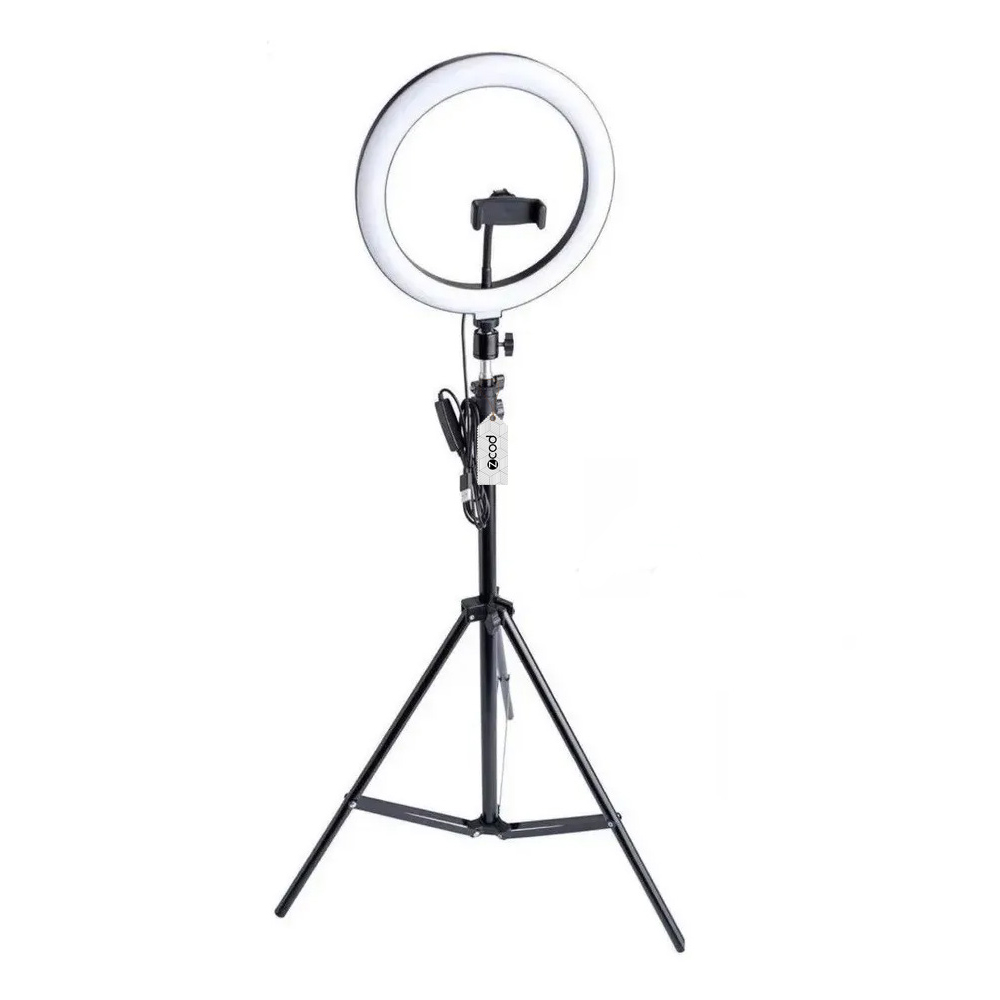 Kit Ring Light Zcod De 26cm + Tripé BV6201