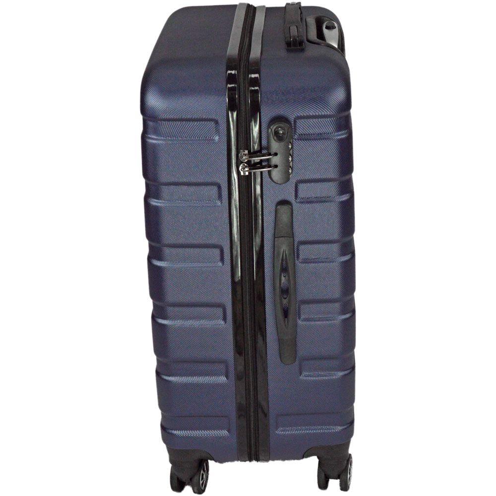 Mala de Viagem Grande Rígida Em ABS - (G) 360 -  Azul