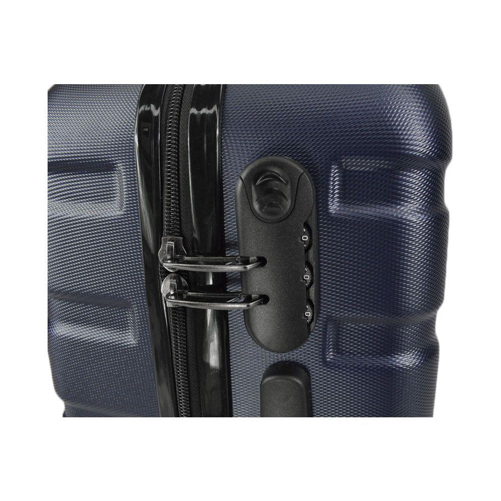 Mala de Viagem Média Rígida Em ABS - (M) 360 - Azul