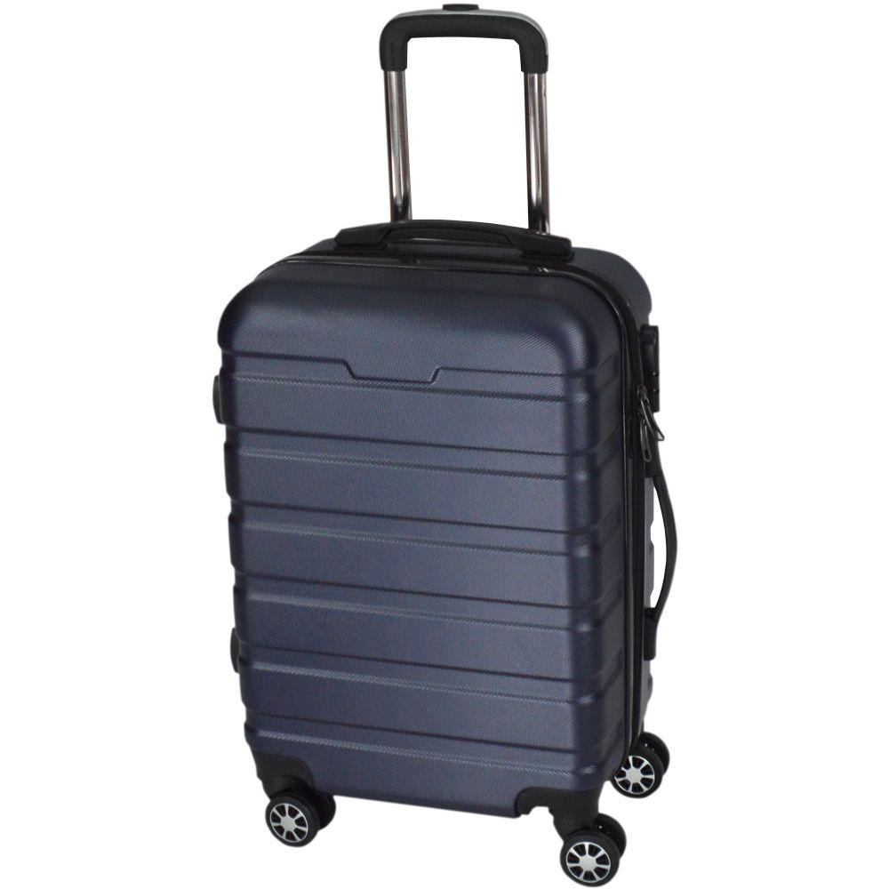 Mala de Viagem Pequena Rígida Em ABS - (P) 360 - Azul