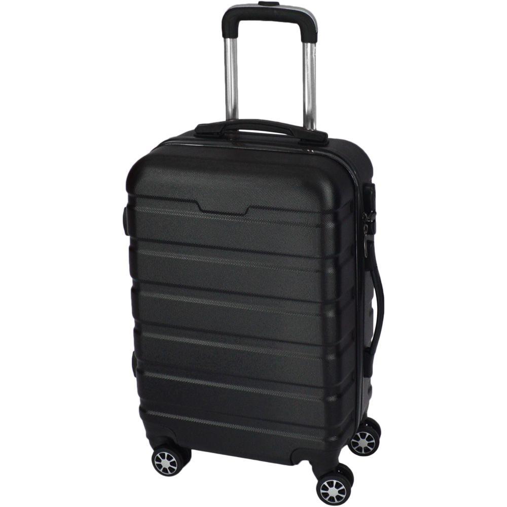 Mala de Viagem Pequena Rígida Em ABS - (P) 360 - Preta