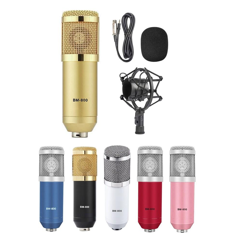 Microfone condensador BM-800 + Aranha BM800