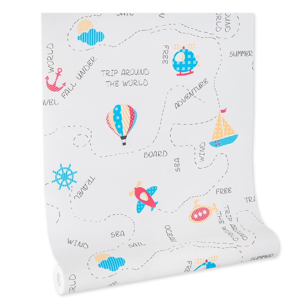 Papel De parede infantil importado lavável vinílico texturizado quarto menino menina criança kids bebê