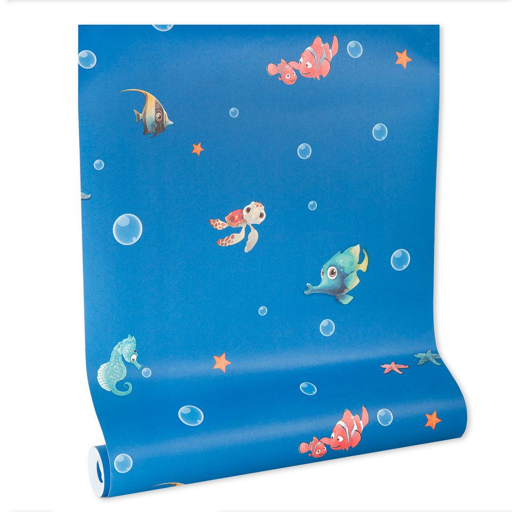 Papel de parede infantil vinílico texturizado criança kids bebê 39094