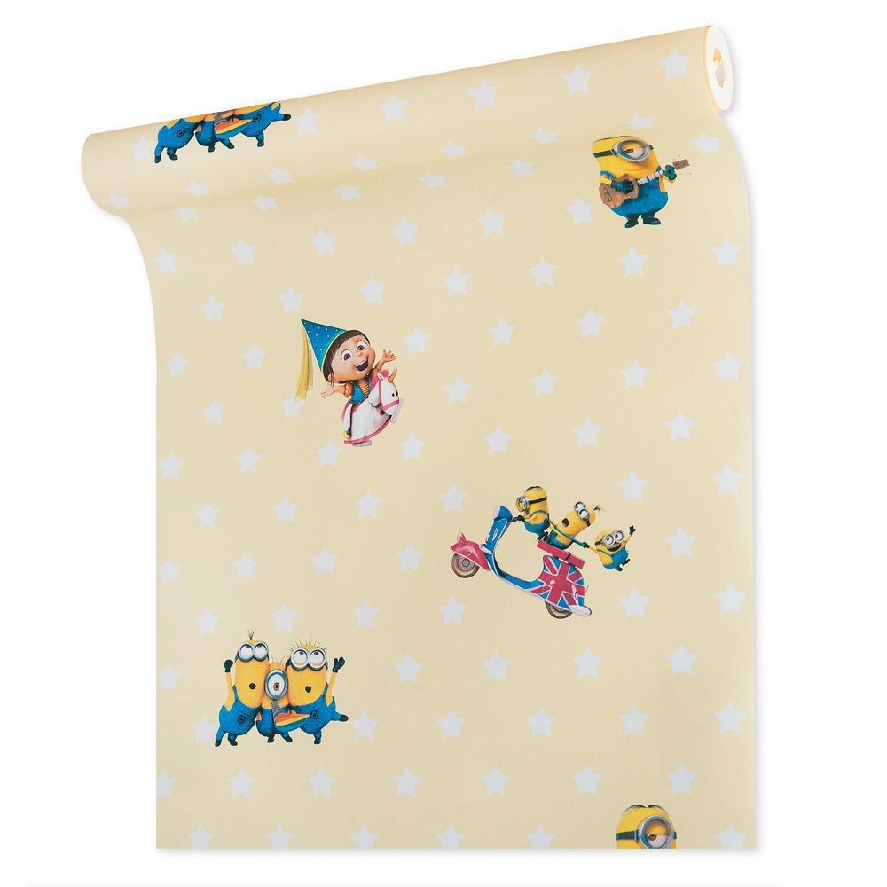Papel de parede infantil vinílico texturizado criança kids bebê 39163