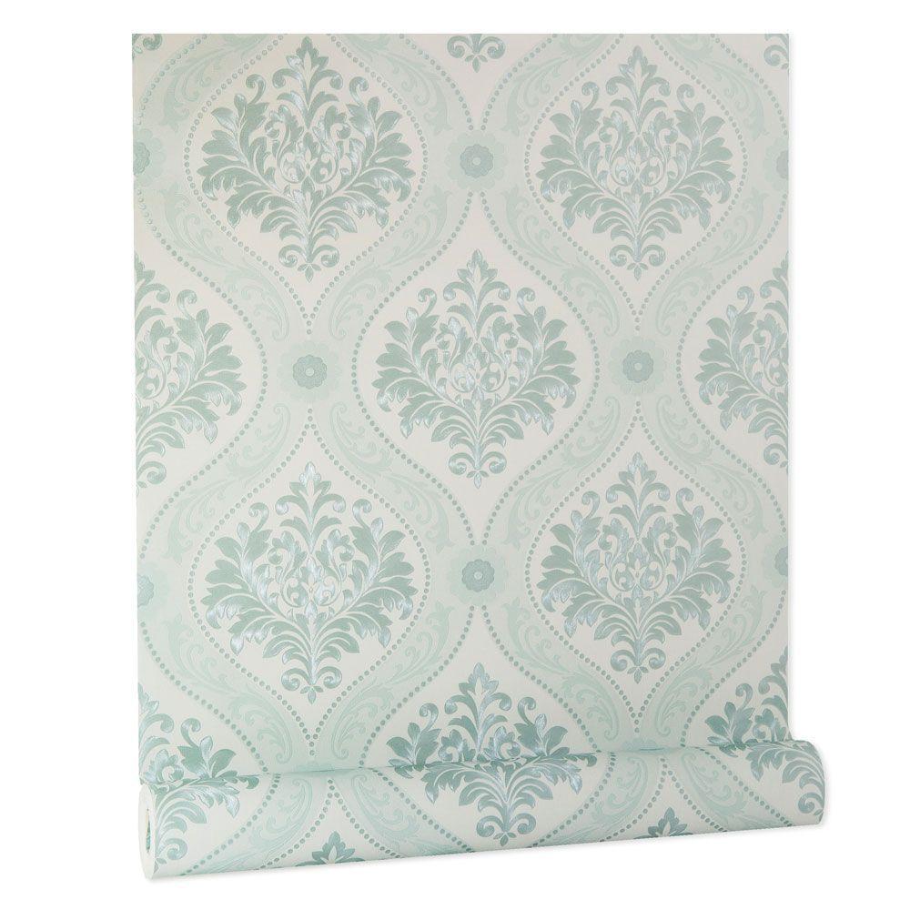 Papel De parede vinílico texturizado arabesco sala 210177