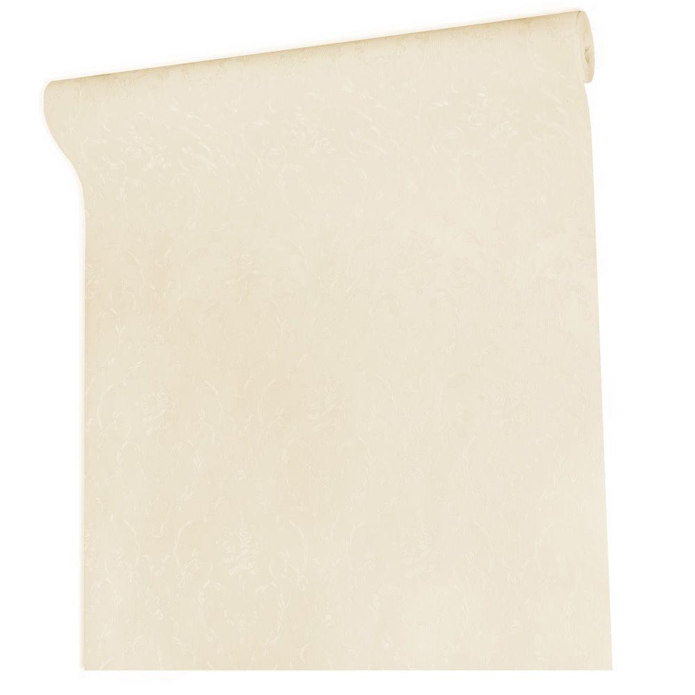 Papel De parede vinílico texturizado arabesco sala 210238