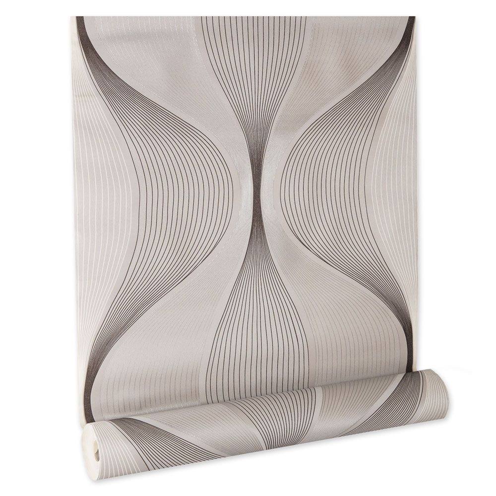 Papel De parede vinílico texturizado geométrico 160121