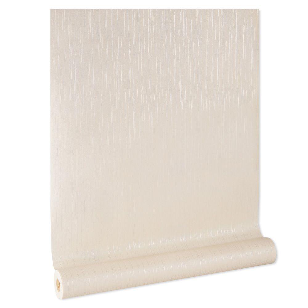 Papel De parede vinílico texturizado listrado sala 5681