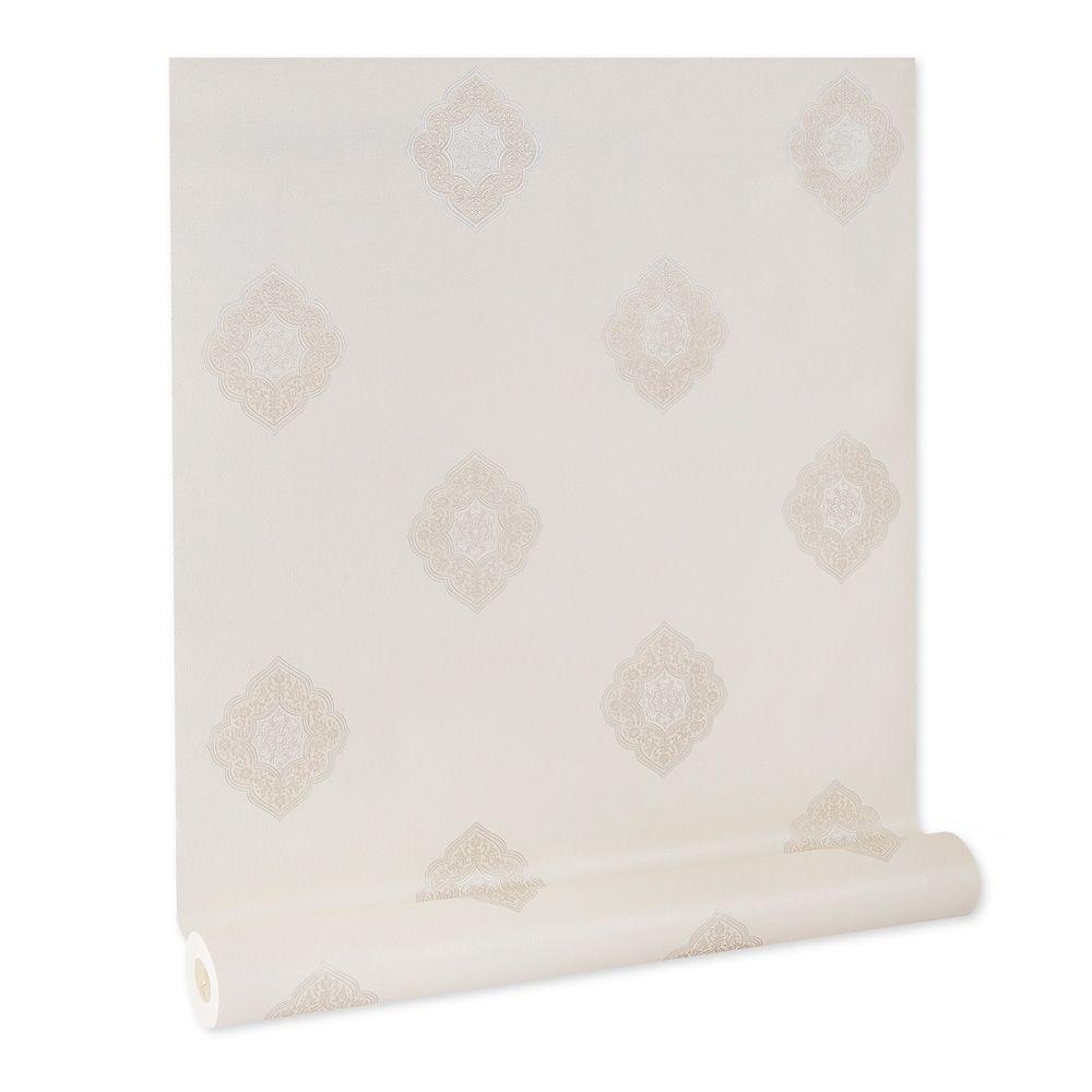 Papel De parede vinílico texturizado lavável arabesco 5822