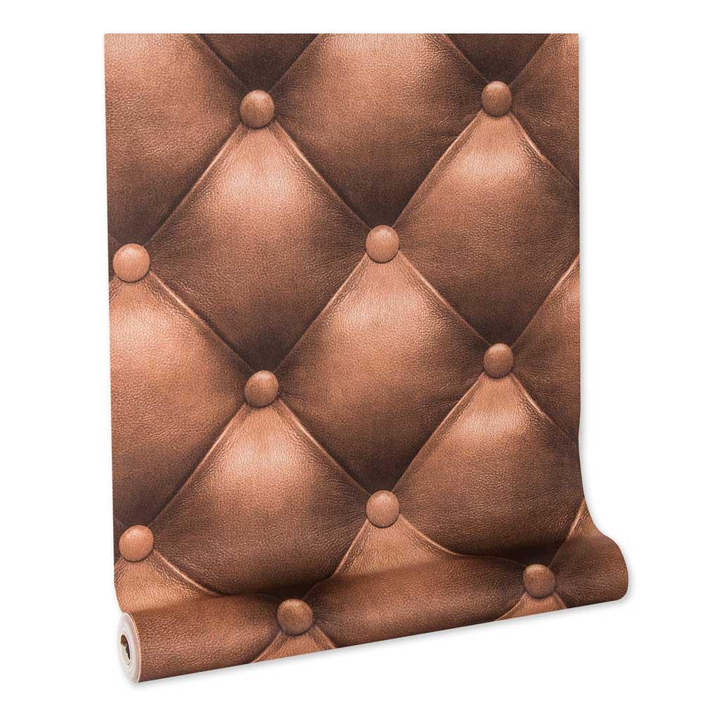 Papel De parede vinílico texturizado lavável cabeceira quarto 5844
