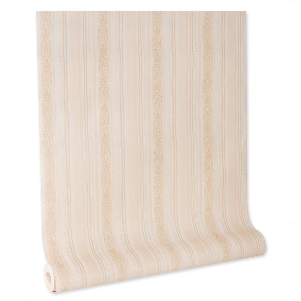 Papel De parede vinílico texturizado listrado sala 210243