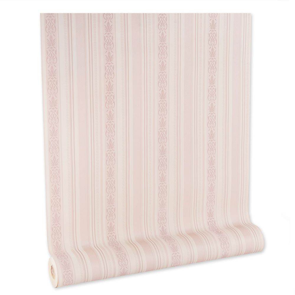 Papel De parede vinílico texturizado listrado sala 210244
