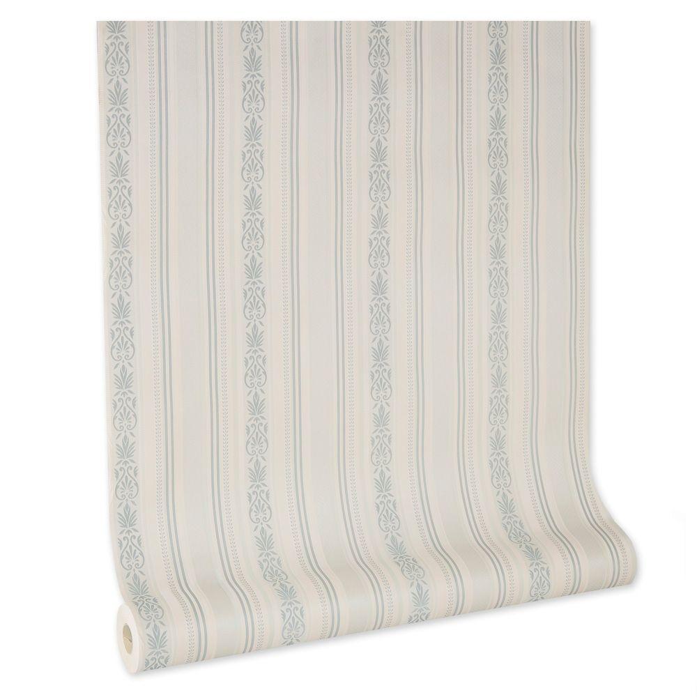 Papel De parede vinílico texturizado listrado sala 210246
