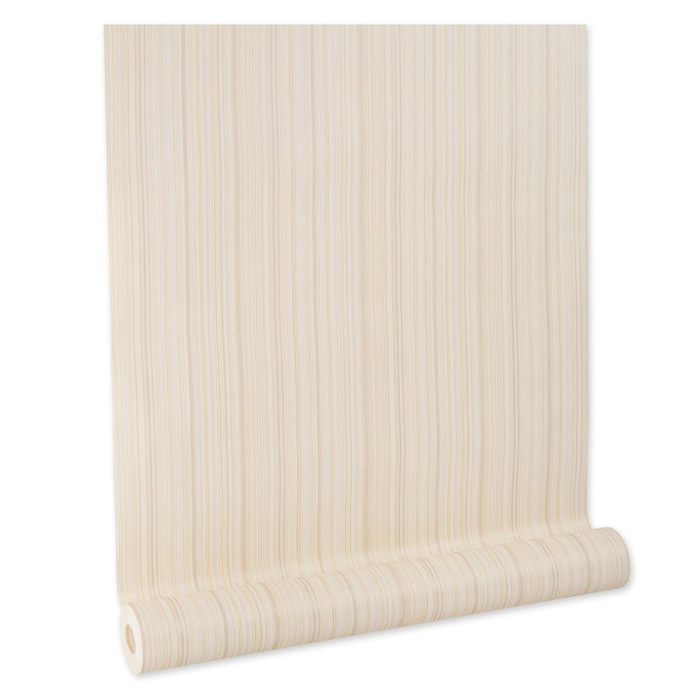 Papel De parede vinílico texturizado listrado sala 5661