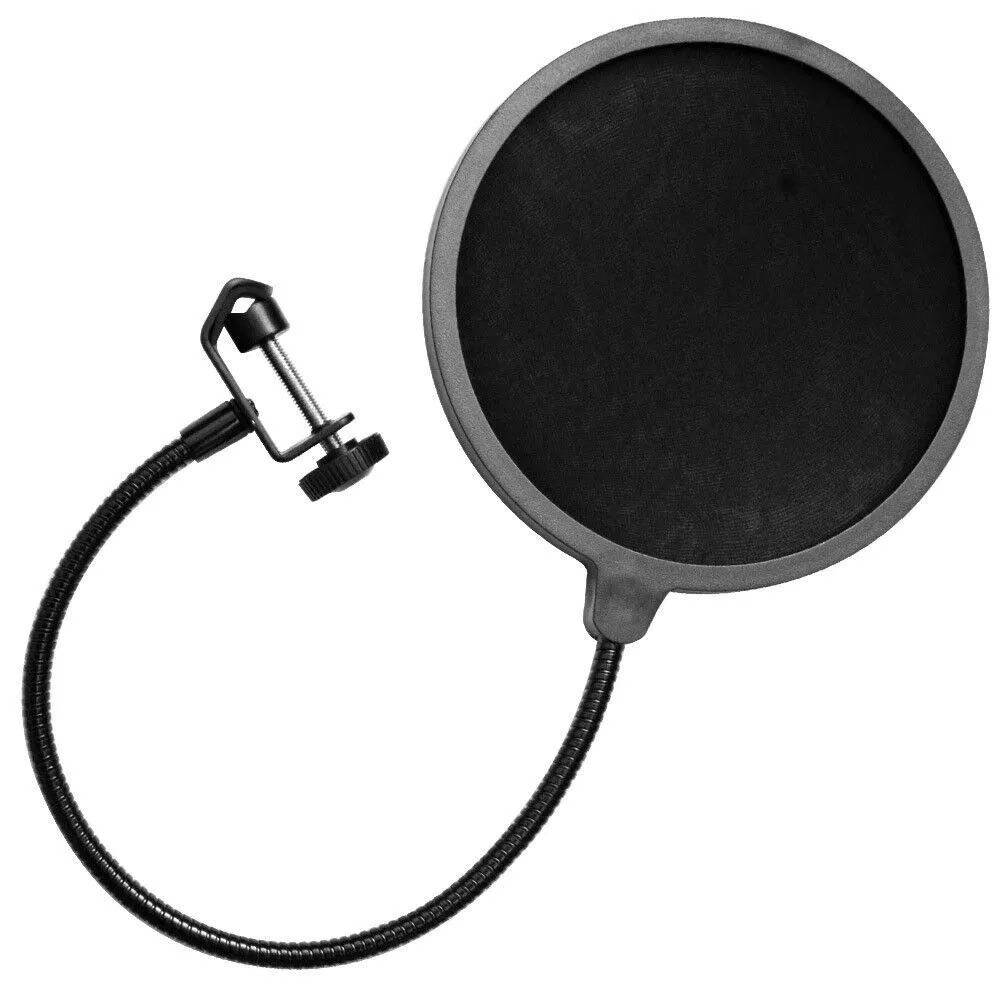 Pop Filter Anti Puff Para Microfone Condensador Studio Kelter