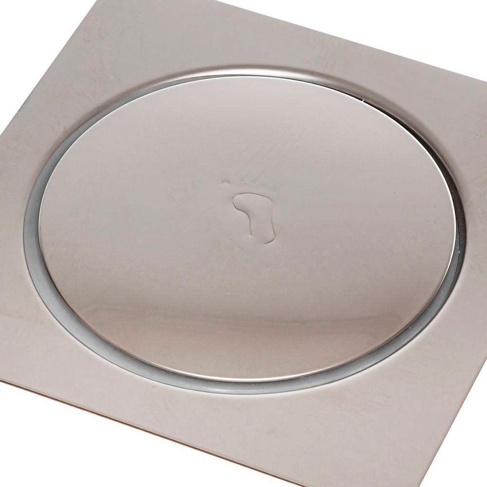 Ralo Pop Up Click Quadrado Banheiro 15x15 Cm Inox Kelter K-R102*