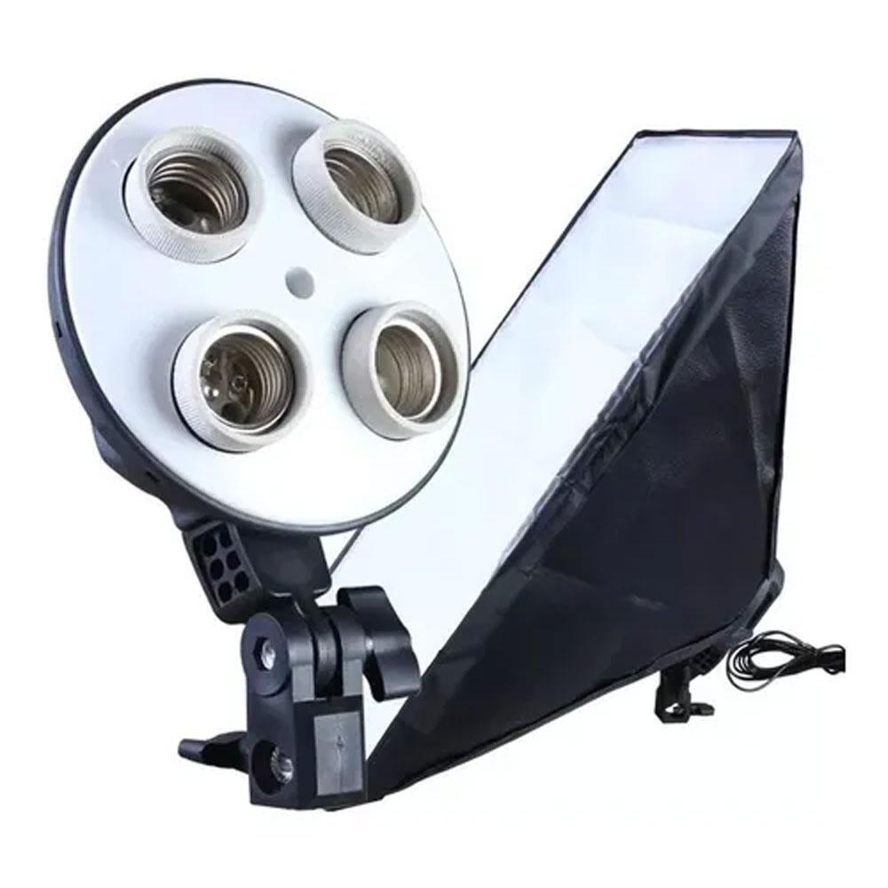 Softbox quádruplo 50x70cm iluminação para estúdio BV400